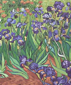 Irises Vincent van Gogh replica
