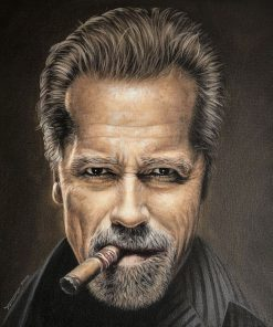 Arnold Schwarzenegger Portrait