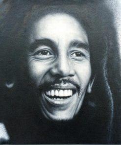 Bob Marley Ölbild Portrait Malerei Öl auf Leinwand
