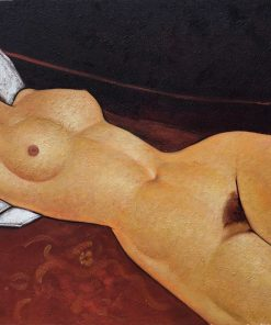 Female Nude Reclining Modigliani oil painting replica