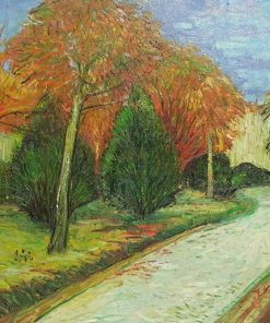 Garden in Autumn Van Gogh