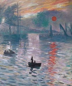 Impression Sonnenaufgang Monet Ölgemälde Replika