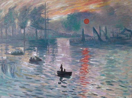 Impression Sunrise Monet oil painting replica