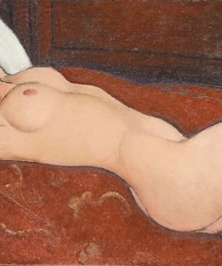 Reclining Nude oil painting Modigliani replica