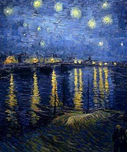 Sternennacht über der Rhone Vincent van Gogh