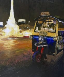 TUK-TUK Oil Painting MEMORIAL
