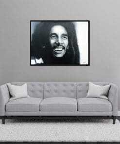 Bob Marley painting hand painted