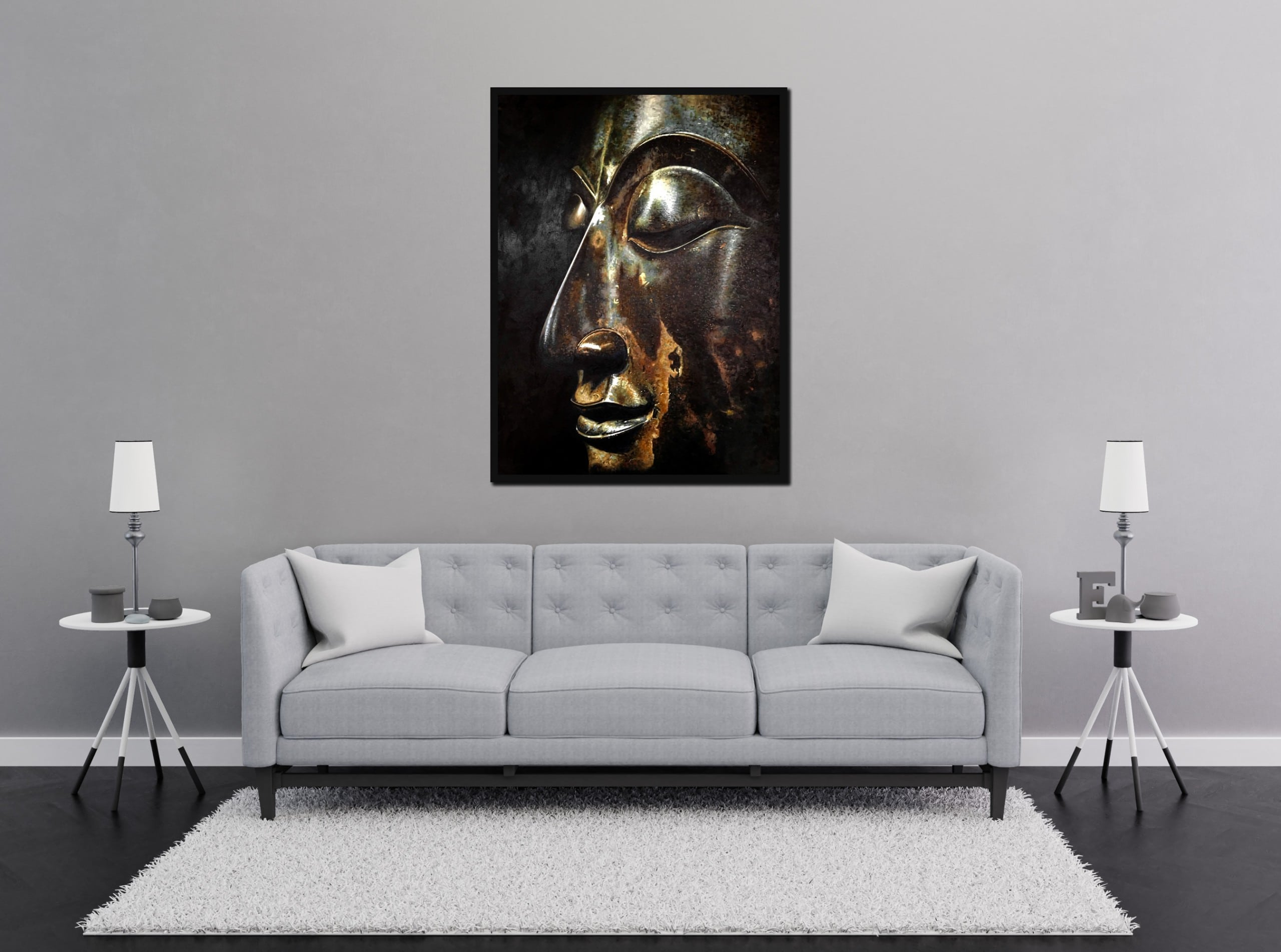 Buddha Painting in oil on Canvas