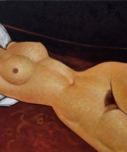 Female Nude Reclining Modigliani Oil Painting