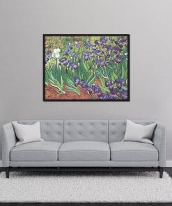 Irises Van Gogh Replica Oil Painting