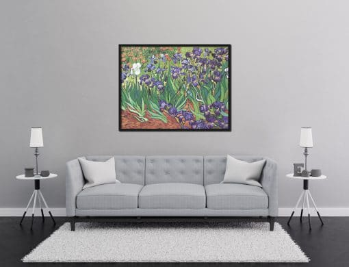 Irises Van Gogh Replica Oil Painting