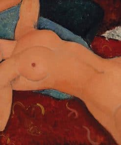 Nu Chouché Oil Painting Modigliani