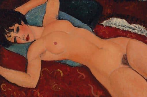 Nu Chouché Oil Painting Modigliani