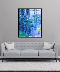 Nympheas II Monet canvas painting oil