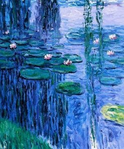 Nympheas 2 Monet Oil Painting Replica