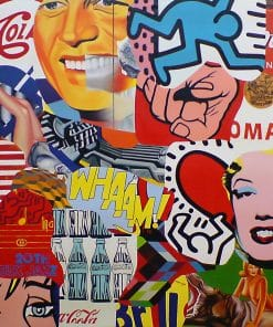 Pop Art Original Painting on canvas