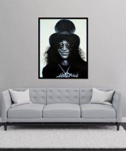 Slash Guns'n Roses Oil Painting on Canvas