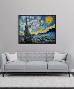 Starry Night Oil Painting Replica