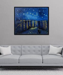 Starry Night over the Rhone oil painting wall-art
