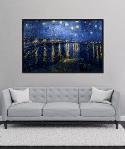 Starry Night over the Rhoné painting