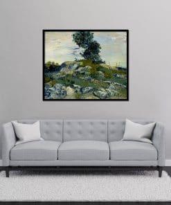 The Rocks painting Van Gogh Replica