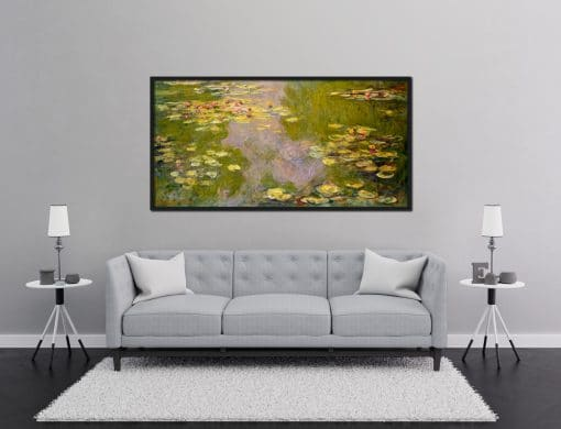 Water Lilies oil painting Claude Monet reproduction