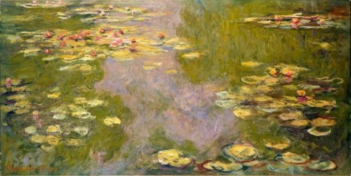 Water Lilies oil painting Claude Monet replica