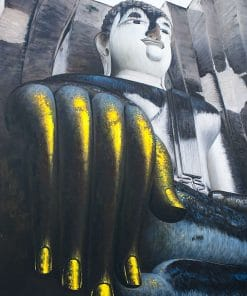 Sitting Buddha Painting